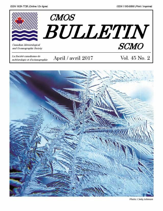 Cover image is a photograph showing a close up of water crystals on a glass surface.