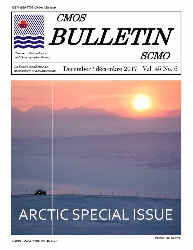 Cover image of Bulletin Vol. 45 No.6 shows a pickup truck driving across a deserted snowy landscape, with mountains and a setting sun in the rear.