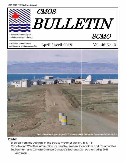 Vol.46 No.2 cover CMOS Bulletin