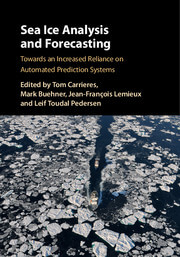 Cover of Sea Ice Analysis and Forecasting for CMOS Book Review