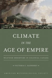 Cover of book by Victoria Slonosky Climate in the Age of Empire