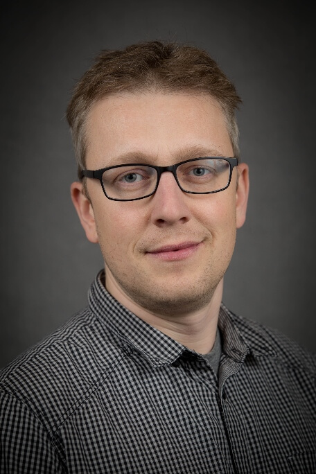 Photo of Marko Markovic, Environment and Climate Change Canada, shows a clean shaven caucasian male, 30's, with glasses.