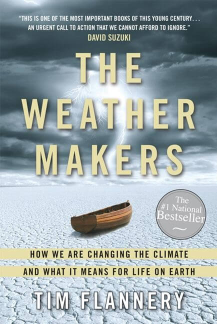 The Weather Makers by Tim Flannery Cover